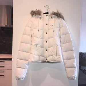 Hollister snow jacket